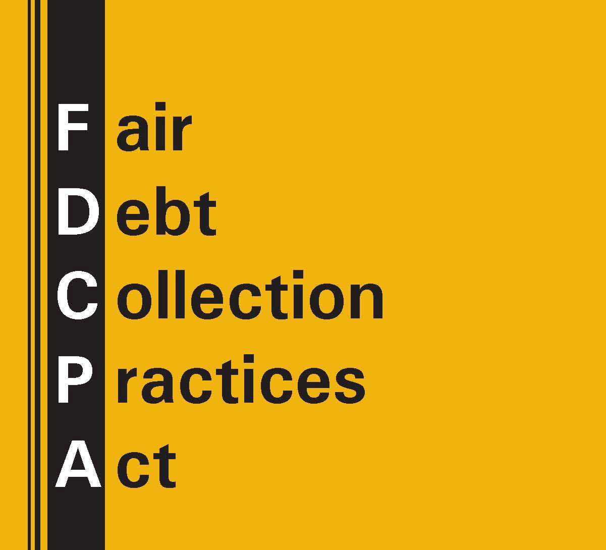 Fdcpa cover page