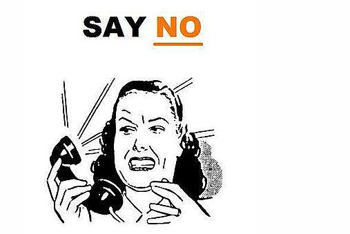 Say no to debt collection calls