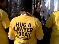 Hug a lawyer today