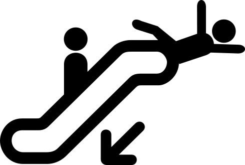 Escalator_warning