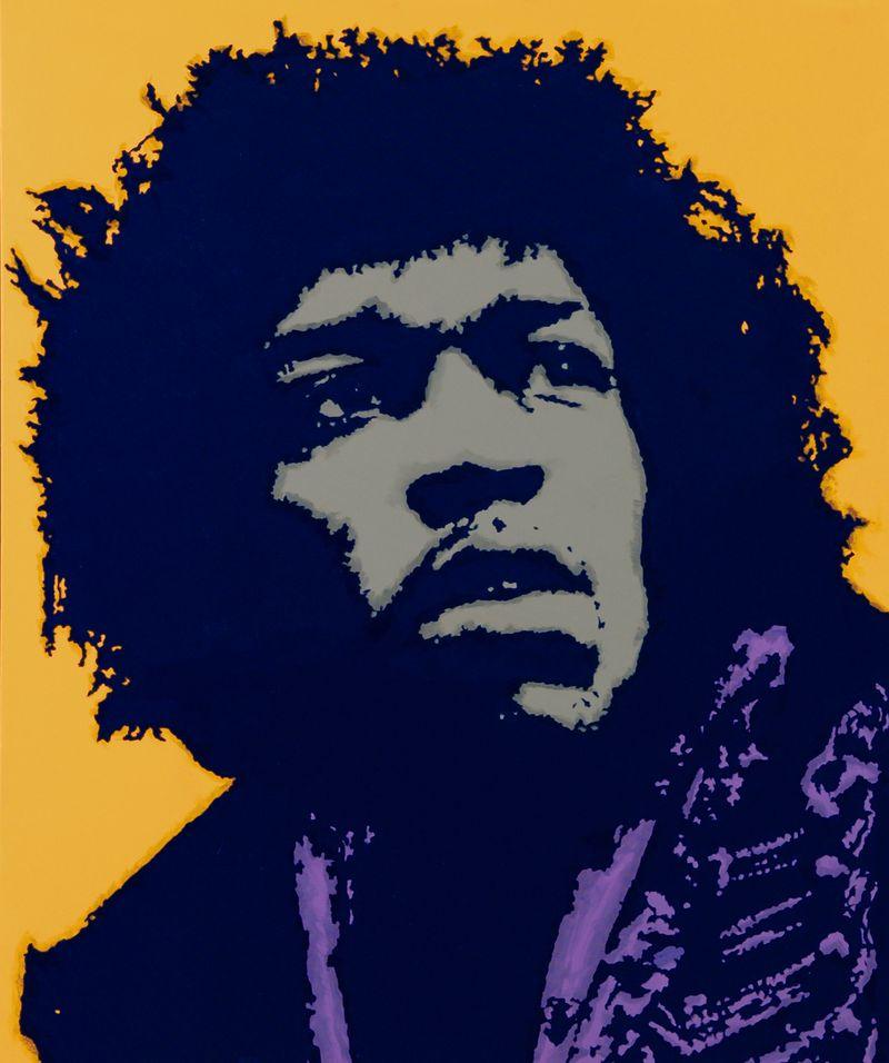 1942-1970 27 Jimi Hendrix